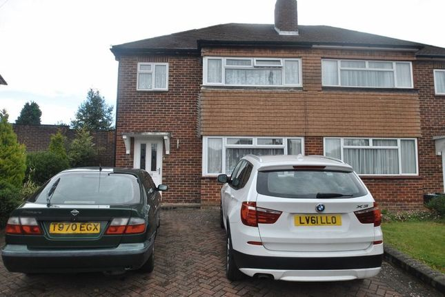 Thumbnail Semi-detached house to rent in Daleside Close, Chelsfield, Orpington