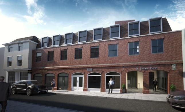 Thumbnail Flat for sale in St James House, Castle Street, Canterbury
