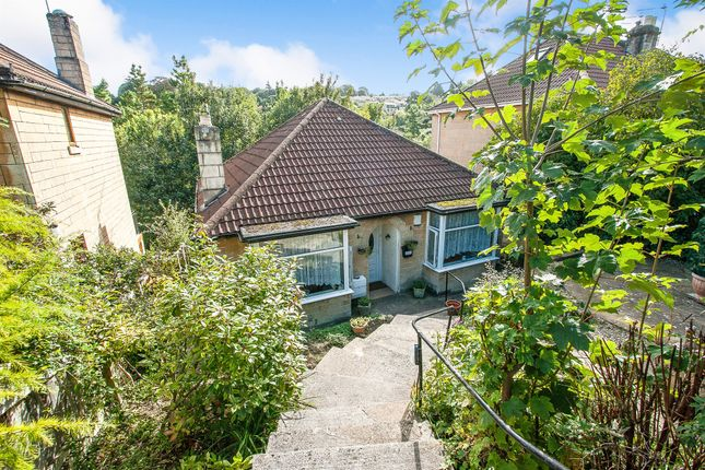 Thumbnail Detached bungalow for sale in Wellsway, Bath
