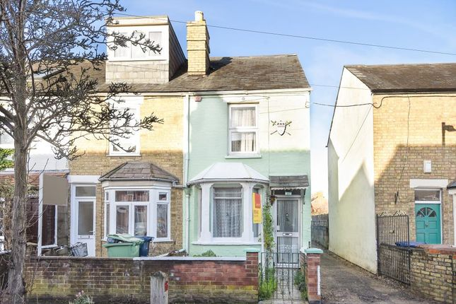 Thumbnail End terrace house for sale in Howard Street, Oxford