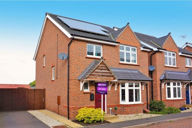 Thumbnail Detached house for sale in Kent Way, Church Gresley