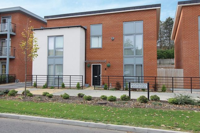 Thumbnail Detached house to rent in Hughenden Boulevard, High Wycombe