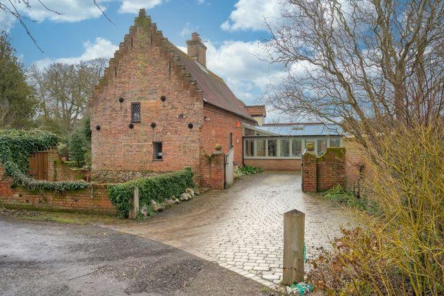 Thumbnail Detached house for sale in Wiffen's Loke, Hethersett, Norwich
