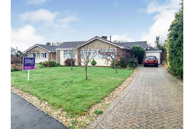 Thumbnail Detached bungalow for sale in Debourne Close, Cowes