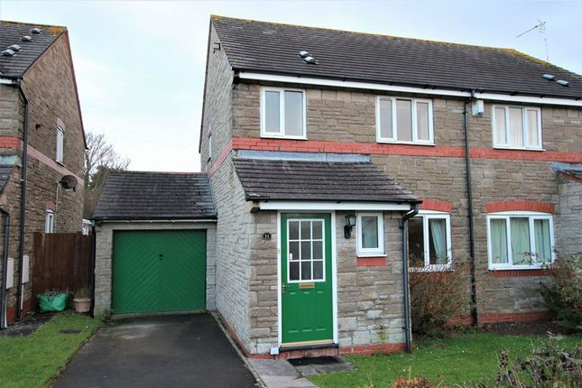 Thumbnail Semi-detached house for sale in Samson Street, Llantwit Major
