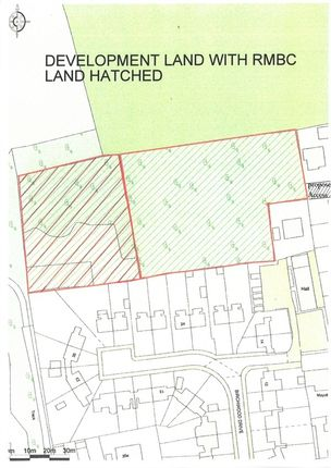 Thumbnail Land for sale in Potential Development Site, Allott Close, Ravenfield, Rotherham, South Yorkshire