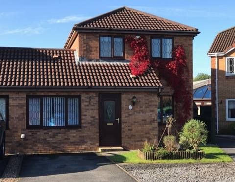 Thumbnail Semi-detached house for sale in Clos Helyg, Gowerton