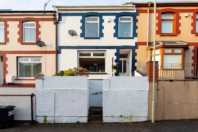 Terraced house for sale in Brynteg, Treharris