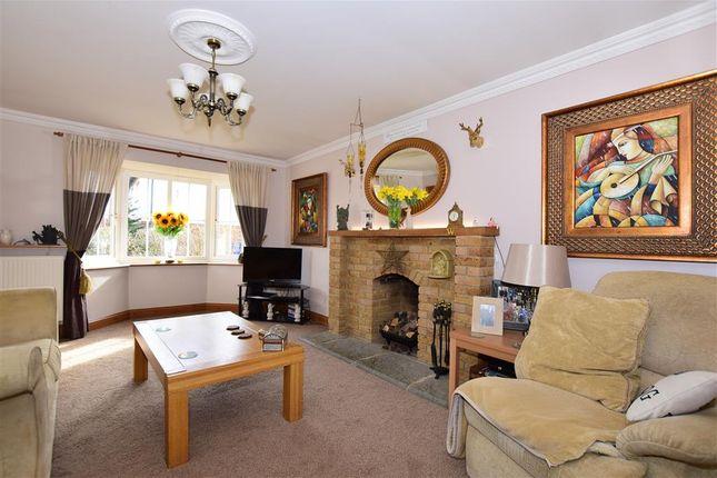 Thumbnail Detached house for sale in Plover Road, Hawkinge, Folkestone, Kent