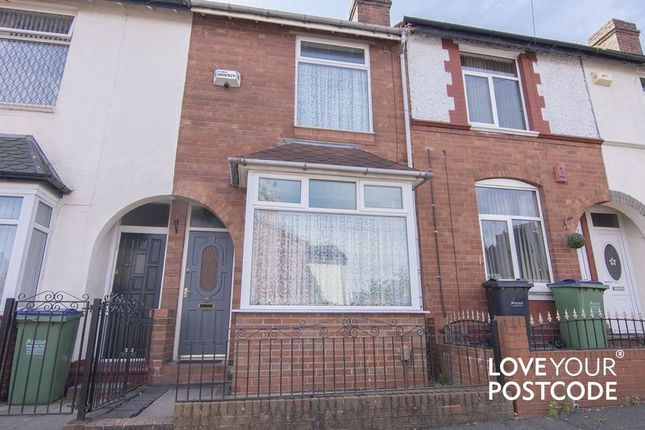 Thumbnail Terraced house for sale in Oakwood Road, Bearwood, Smethwick