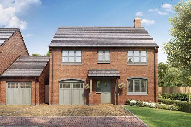Thumbnail Detached house for sale in Laburnum Gardens, Stoke Golding, Nuneaton