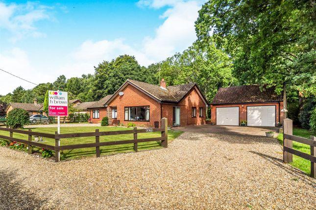 Thumbnail Detached bungalow for sale in Bernard Close, High Kelling, Holt