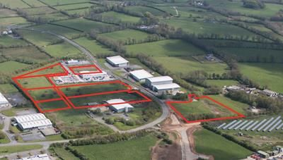 Thumbnail Land for sale in Serviced Plots, Bryn Cefni Industrial Estate, Llangefni, Anglesey