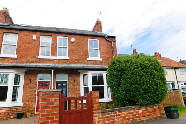 Thumbnail Terraced house to rent in Southfields Road, Strensall, York