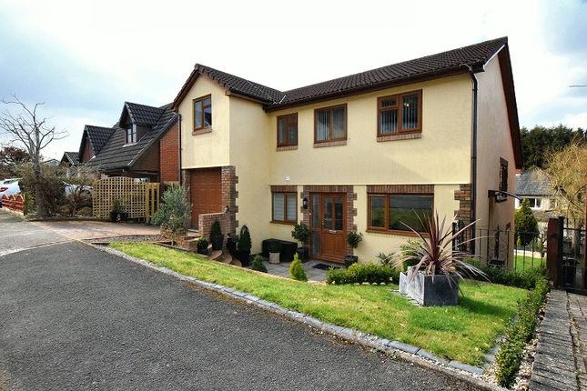 Thumbnail Detached house for sale in Castell Coch View, Tongwynlais, Cardiff.