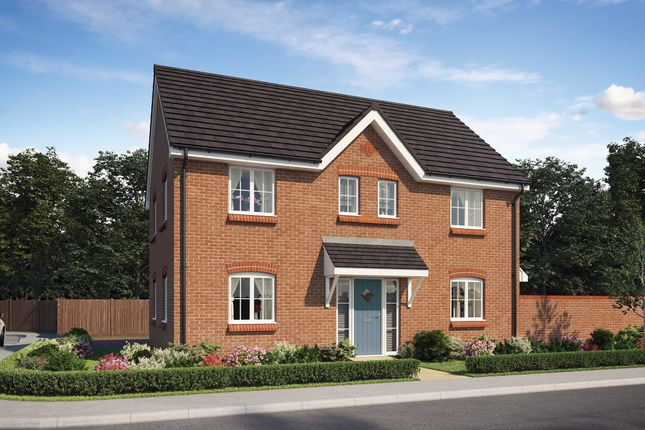 Thumbnail Detached house for sale in Fishponds Way, Haughley