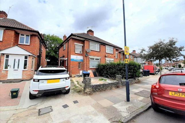 Thumbnail Semi-detached house to rent in Carlyon Road, Wembley, Wembley
