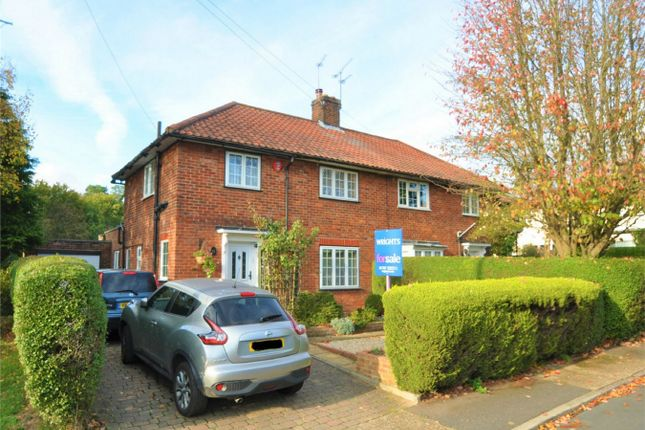 Thumbnail Semi-detached house for sale in Broadfield Place, Welwyn Garden City, Hertfordshire