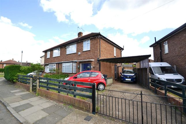 Thumbnail Semi-detached house for sale in Sherborne Road, Bedfont, Feltham