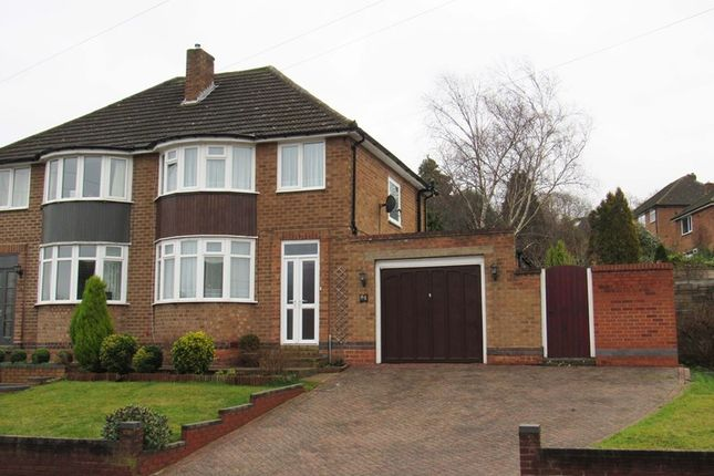 Thumbnail Semi-detached house for sale in Eden Road, Solihull