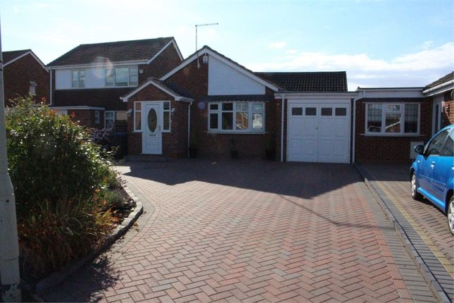 Thumbnail Detached bungalow for sale in Blenheim Crescent, Broughton Astley, Leicester