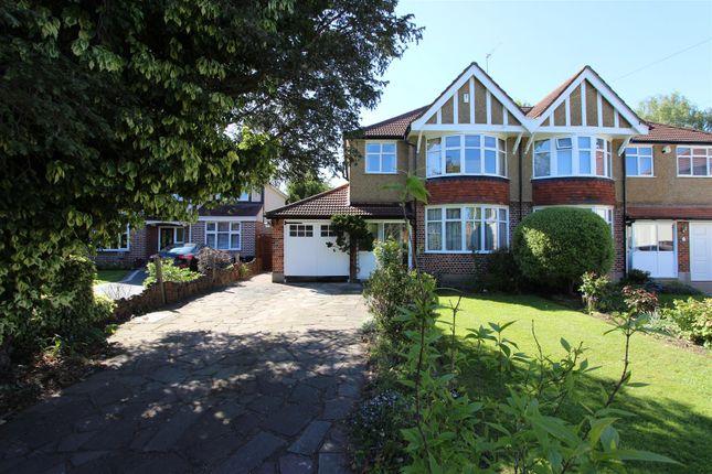 Thumbnail Semi-detached house for sale in Court Road, Ickenham, Uxbridge