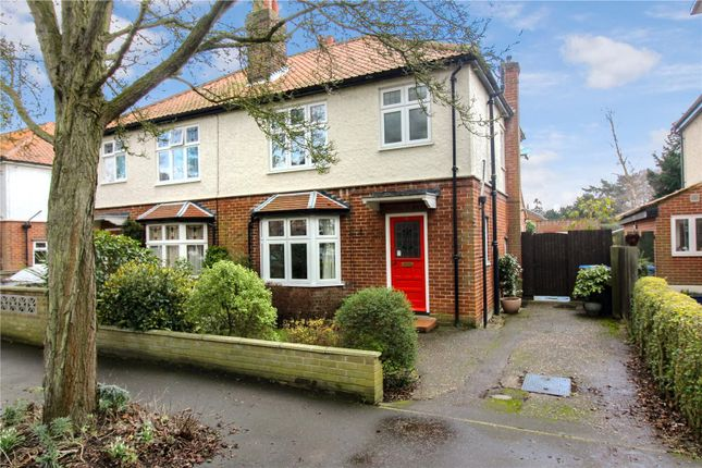 Thumbnail Semi-detached house for sale in Grange Road, Off Christchurch Road, Norwich