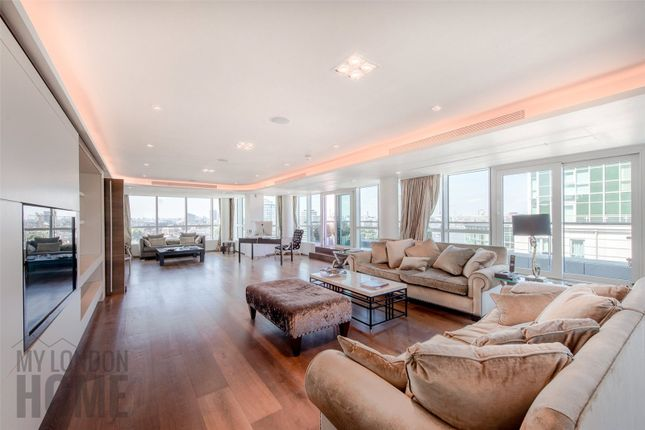 Thumbnail Flat for sale in Kestrel House, St George Wharf, Vauxhall, London