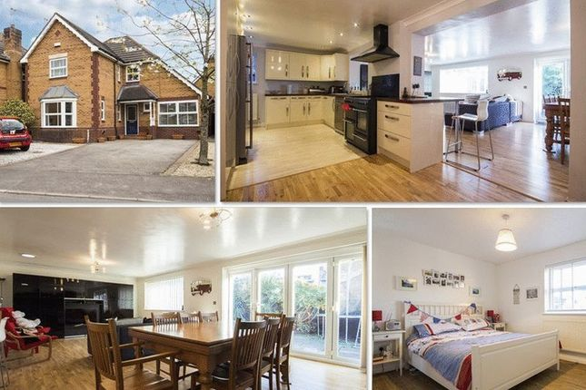 4 bed detached house for sale in Oak Tree Drive, Rogerstone, Newport