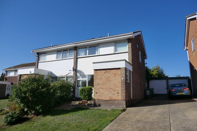 Thumbnail Semi-detached house to rent in Romford Road, Warsash, Southampton