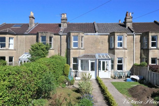 Thumbnail Terraced house for sale in Victoria Place, Combe Down, Bath