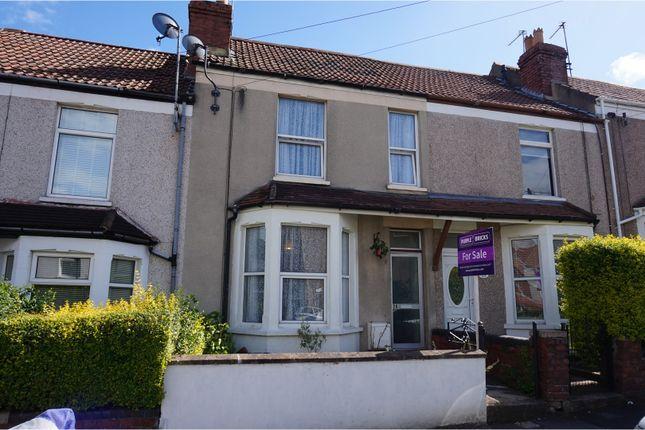 Thumbnail Terraced house for sale in Manworthy Road, Brislington