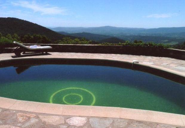 Pool & Views of La Garde Freinet, Saint Tropez, French Riviera, 83680
