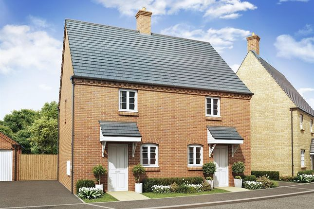 "Thumbnail Semi-detached house for sale in ""The Beverley"" at Ashton Road, Roade, Northampton"