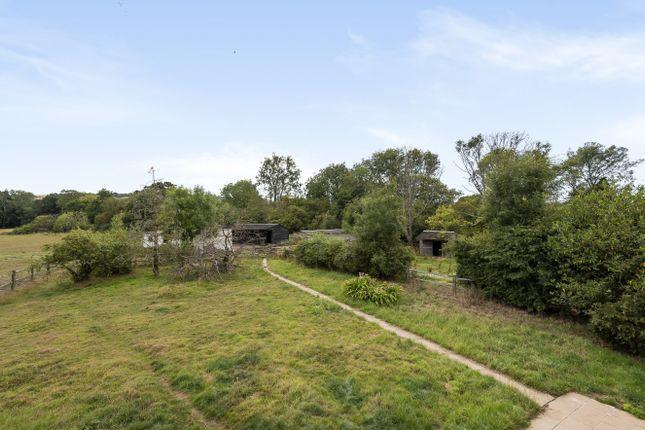 Rear Gardens of Storrington Road, Washington, Pulborough RH20