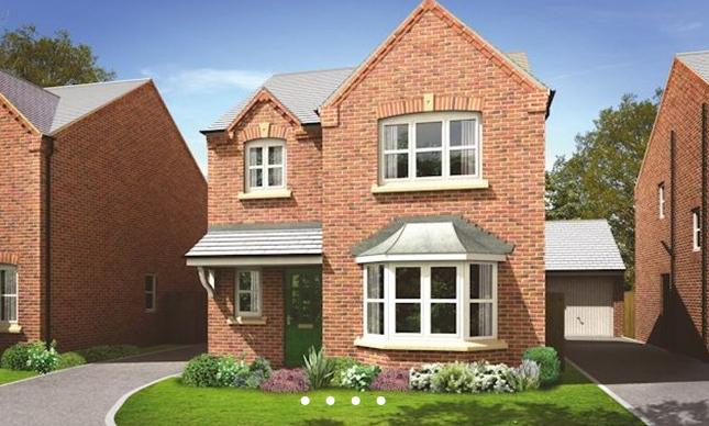 Thumbnail Detached house for sale in The Dunham 2, Hoyles Lane, Cottam, Preston, Lancashire
