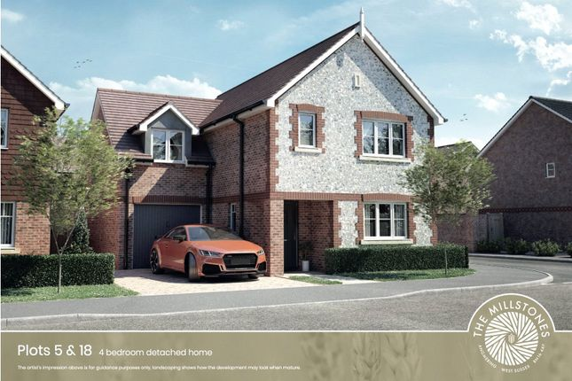 Thumbnail Detached house for sale in The Millstones, Mayflower Way, Angmering, West Sussex