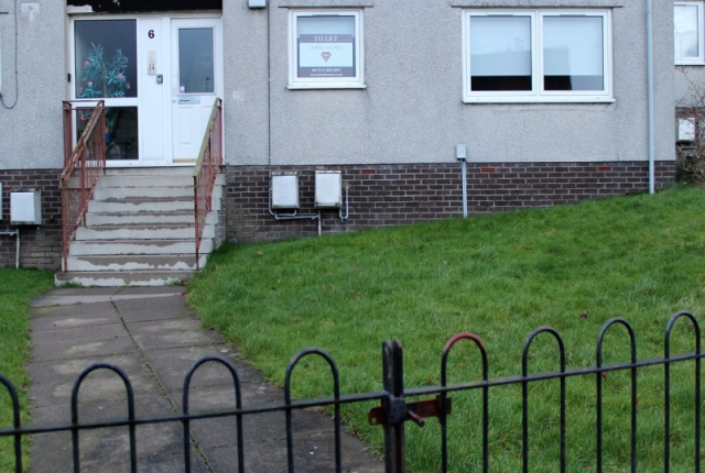 Thumbnail Flat to rent in Drumgelloch Street, Airdrie, North Lanarkshire, 7Ez