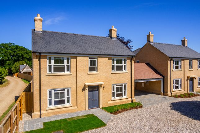 Thumbnail Link-detached house for sale in High Bank, Long Lane, Fowlmere