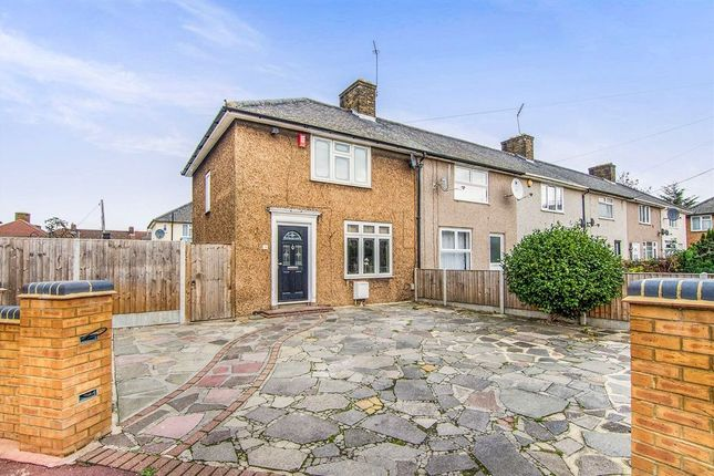 Thumbnail End terrace house to rent in Flamstead Gardens, London