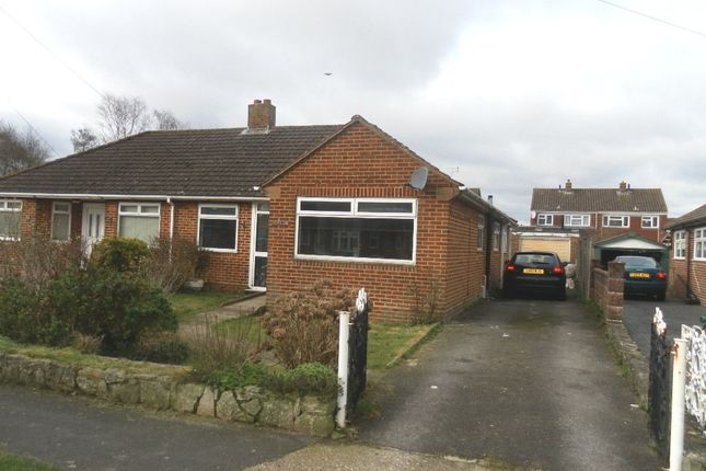 Thumbnail Semi-detached bungalow for sale in Hatherley Crescent, Portchester
