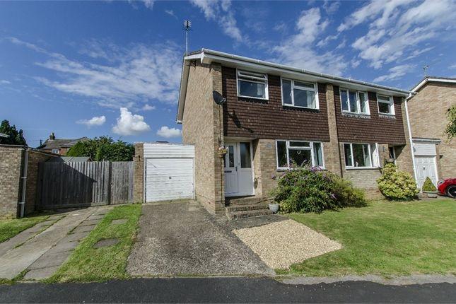 Thumbnail Semi-detached house for sale in Ashlea Close, Fair Oak, Eastleigh, Hampshire