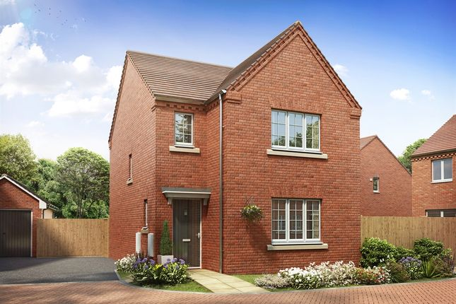 "Thumbnail Detached house for sale in ""The Hatfield"" at Brickburn Close, Hampton Centre, Peterborough"