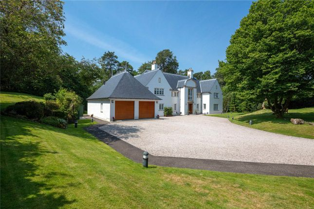 Thumbnail Detached house for sale in Kildrummy, 4 Knockbuckle Lane, Kilmacolm, Renfrewshire