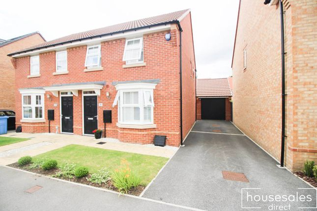 Thumbnail Semi-detached house for sale in Wyles Way Stamford Bridge, York