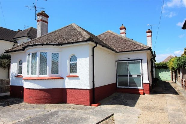 Thumbnail Detached bungalow for sale in Carlton Road, Clacton-On-Sea