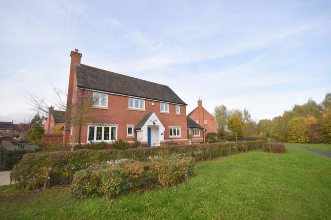 Thumbnail Detached house for sale in Hillcrest Drive, Loughborough