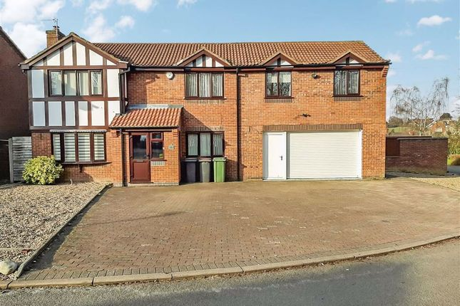 Thumbnail Detached house for sale in Orford Rise, Galley Common, Nuneaton