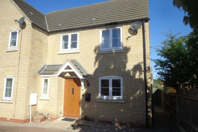 3 bed semi-detached house to rent in Chicheley Close, Soham CB7