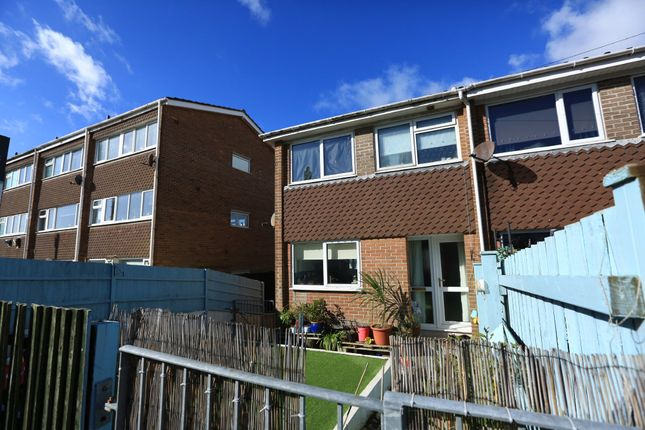 Thumbnail End terrace house for sale in Endsleigh Road, Plymstock, Plymouth